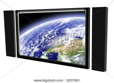 Big Television Screen
