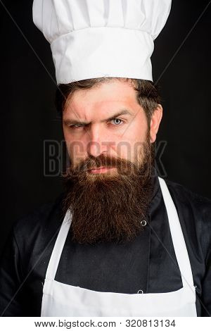 Professional Chef, Cook Or Baker. Chief Cook And Professional Culinary. Cooking And Food Concept. Ch