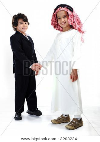 Different races and ethnic culture together