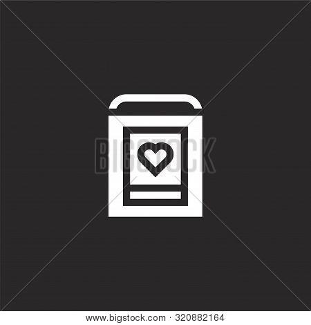 Defibrillator Icon. Defibrillator Icon Vector Flat Illustration For Graphic And Web Design Isolated