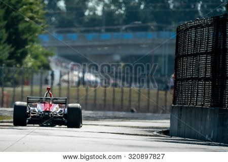 August 31, 2019 - Portland, Oregon, USA: MATHEUS LEIST (4) of Novo, Hamburgo Brazil  practices for the Grand Prix of Portland at Portland International Raceway in Portland, Oregon.