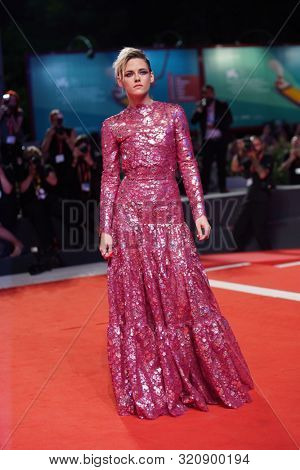 Kristen Stewart walks the red carpet ahead of the