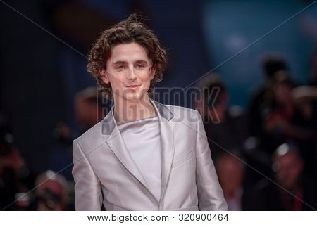 Timothee Chalamet at the 76 Venice International Film Festival 2019. The King Red Carpet. Venice (Italy), September 2nd, 2019