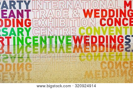 Reflect  Colorful Wording  Design Decoration Advertising Backgound