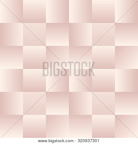 Seamless Geometric Cute Caged Pattern In Soft Pink Shades. Print For Textile, Fabric Manufacturing,