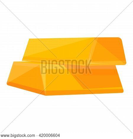 Bank Reserves Icon. Cartoon Of Bank Reserves Vector Icon For Web Design Isolated On White Background