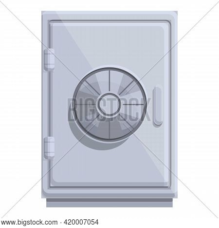 Deposit Room Security Icon. Cartoon Of Deposit Room Security Vector Icon For Web Design Isolated On