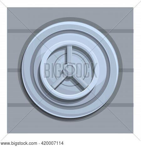 Deposit Room Storage Icon. Cartoon Of Deposit Room Storage Vector Icon For Web Design Isolated On Wh