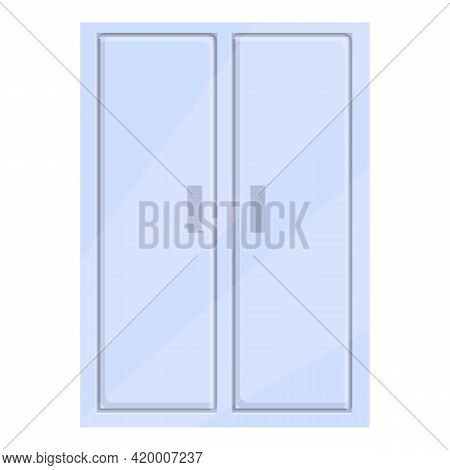 Deposit Room Wardrobe Icon. Cartoon Of Deposit Room Wardrobe Vector Icon For Web Design Isolated On