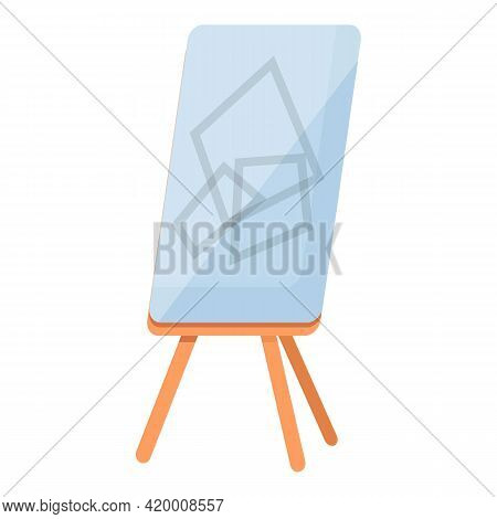Board Brainstorming Icon. Cartoon Of Board Brainstorming Vector Icon For Web Design Isolated On Whit