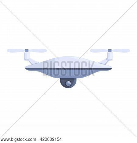 Drone Technology Survey Icon. Cartoon Of Drone Technology Survey Vector Icon For Web Design Isolated