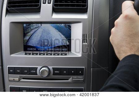 In Dash Reversing Camera (RHD)