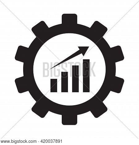 Efficiency Icon Vector For Your Web Site Design, Logo, App, Ui.illustration