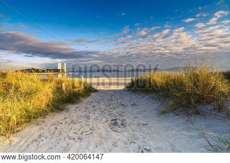 Sandy Path To The Beach Vao, Vigo
