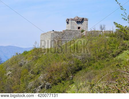 View Of Fratello Minore (younger Brother) Fort Of Genoa, Italy