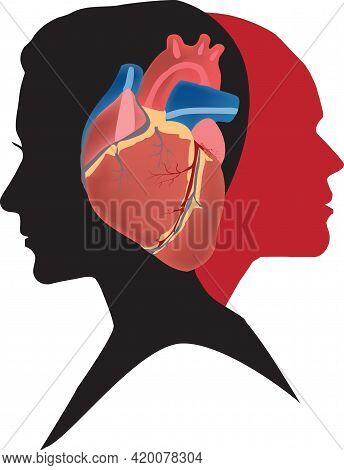 Human Heart Faces People Human Heart Faces People