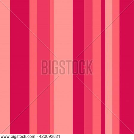 Seamless Stripe Pattern. Multicolored Background. Abstract Texture With Many Lines. Geometric Colorf