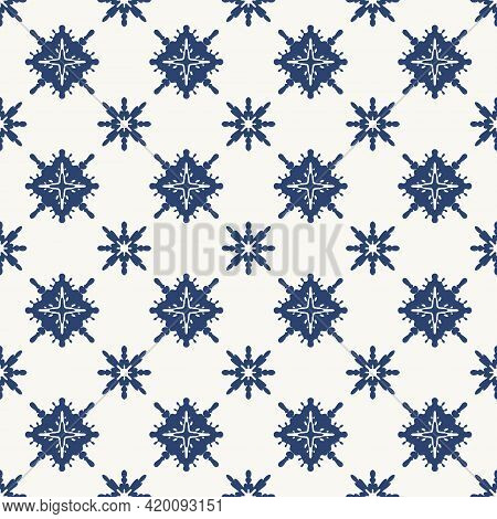 Seamless Vector Pattern. Various Abstract Simple Shapes And Lines. Tile Stencil. Beautiful Geometric