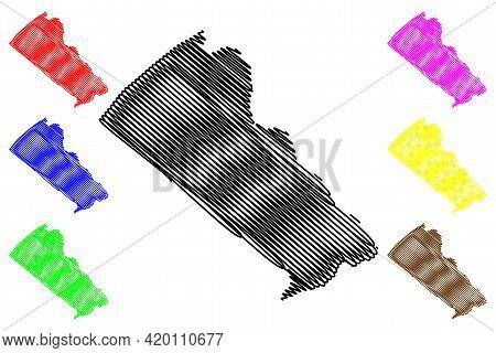 Bucks County, Commonwealth Of Pennsylvania (u.s. County, United States Of America, Usa, U.s., Us) Ma