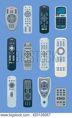 Tv Controllers. Remote Play Gadgets For Home Appliances Electronic Items Controllers For Technics Ga