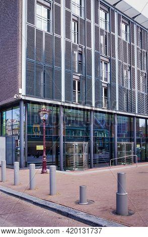 28 April 2021, Amsterdam, Netherlands, Anne Frank House In Amsterdam, Netherlands, Temporary Closed