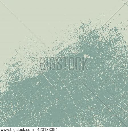Gren Grunge Square Texture For Your Design