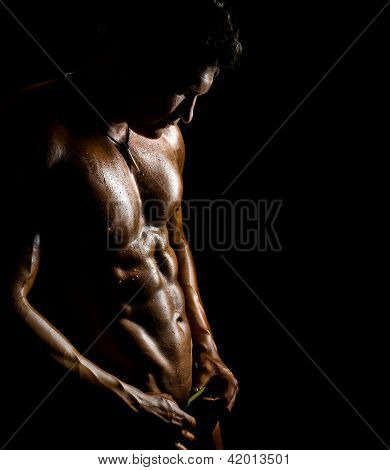 Muskulöse Sexy Guy