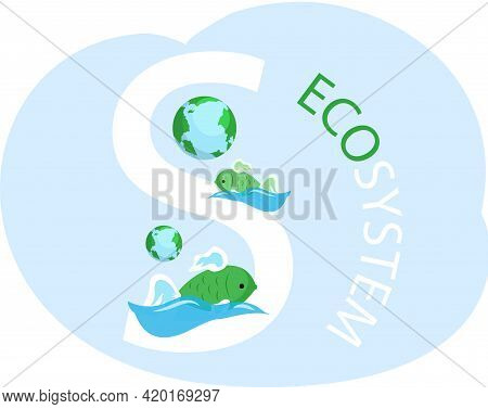 Eco Friendly, Nature Conservation, Environmental Protection. Representatives Of Biodiversity Of Plan