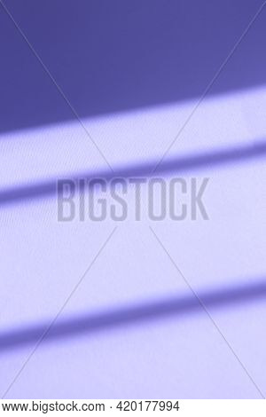 Violet Background With Contrasting Shadows. Abstract Trending Background With Shadows
