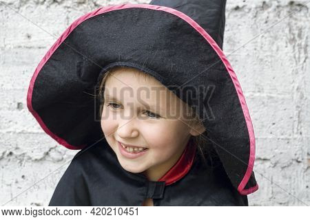 A Child With A Good Mood, Laughter And Happiness