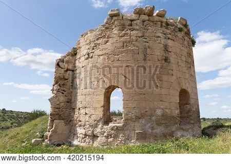 The Ruins Of The Byzantine Church Of St. Anne Near The Maresha City In Beit Guvrin, Kiryat Gat, In I