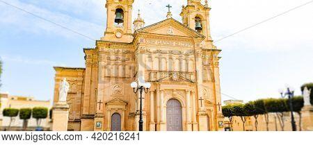 Cathedral in Mgarr Malta Cathedral in Mgarr Malta