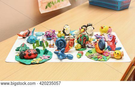 Creativity With Plasticine For Modeling, Multi-colored Plasticine, Plasticine In The Children's Room