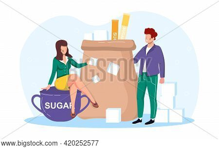 Sugar Addiction Therapist Treatment. Talk With Doctor Psychologist About Ways To Beat Sugar Cravings