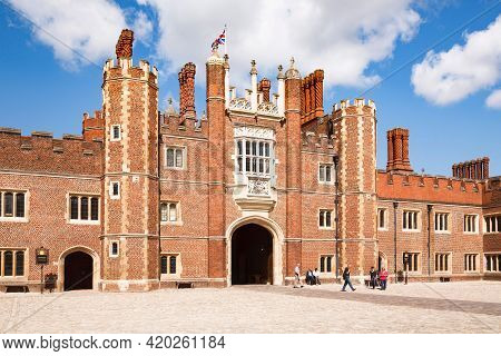 London, Uk - July 22, 2011. Hampton Court Palace, The Historic Palace Of King Henry Viii
