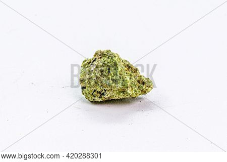 Garnierite, Is A Mineral Composed Of Hydrated Nickel Silicates. It Is An Important Source Of Industr