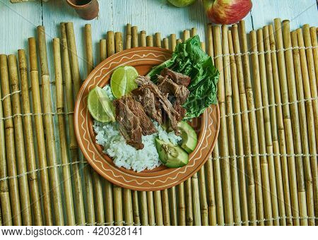 Cayman Style Beef -christmas Beef,  Traditional Dish From The Cayman Islands