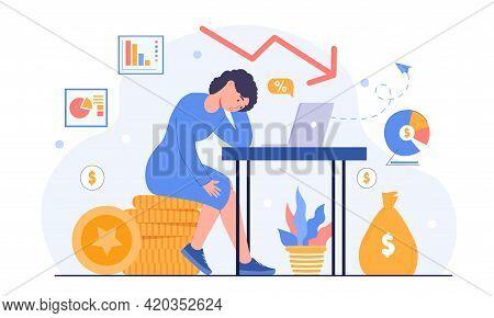 Business Problem, Profit Drop, Rating Decrease, Financial Trouble, Bad Leadership, Burnout, Stressed