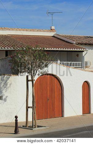 House At Saintes-maries-de-la-mer, Camargue, France