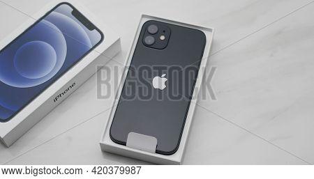 Hong Kong 11 January 2021: Iphone 12