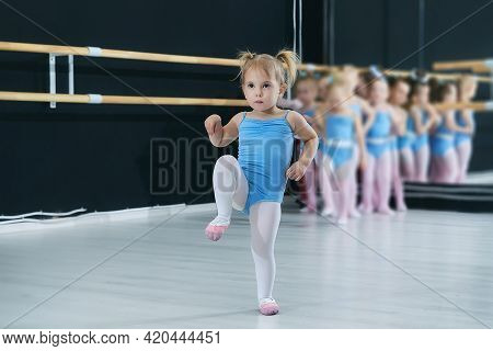 Classes At The School Of Choreography School.
