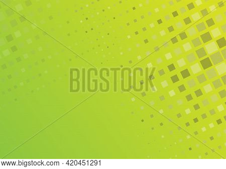Abstract Yellow-green Background For Banners, Screensavers, Posters And Creative Design. Stock Illus