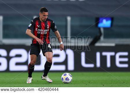 Torino, Italy. 09 May 2021. Ismael Bennacer Of Ac Milan  During The Serie A Match Between Juventus F