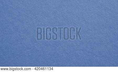 The Surface Of Blue Cardboard. Glamorous Generic Gray Paperboard Wallpaper. Paper Texture With Cellu