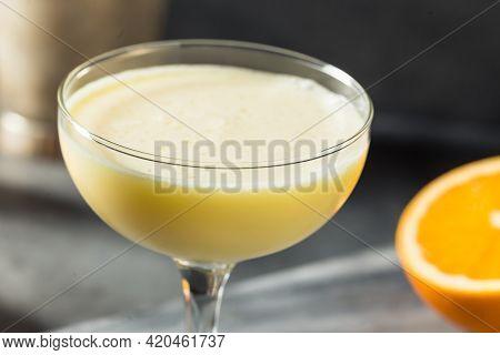 Refreshing Boozy Golden Dream Cocktail