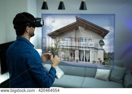 Virtual Real Estate House Tour Using Vr Headset