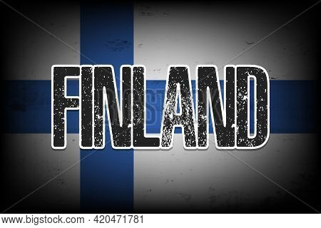 National Flag Of Finland