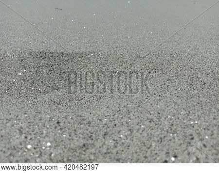 Picture Of White Soft Sand Around River's Bank