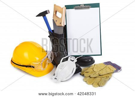 Repair Accessories And Clipboard