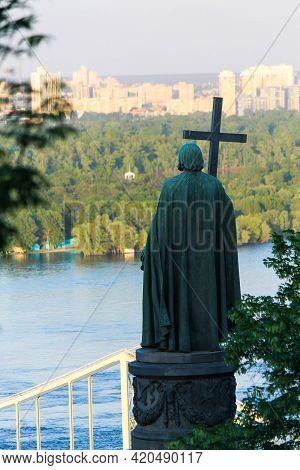 Prince Vladimir On A Hillside In Kiev Overlooking The Dnieper